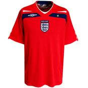 England 2008 Awy Shirt